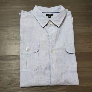 New!! Men's Apt. 9 Blue Long Sleeve Shirt